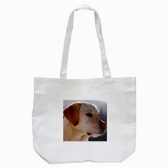 3 Labrador Retriever Tote Bag (White)