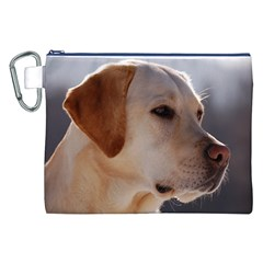 3 Labrador Retriever Canvas Cosmetic Bag (XXL)
