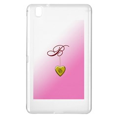 B Golden Rose Heart Locket Samsung Galaxy Tab Pro 8.4 Hardshell Case