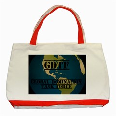 Gdtf Classic Tote Bag (red)
