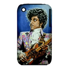 His Royal Purpleness Apple iPhone 3G/3GS Hardshell Case (PC+Silicone)