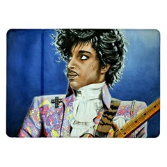 His Royal Purpleness Samsung Galaxy Tab 10.1  P7500 Flip Case
