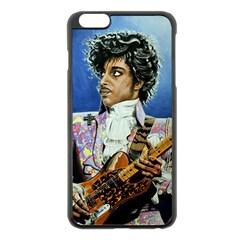 His Royal Purpleness Apple iPhone 6 Plus Black Enamel Case