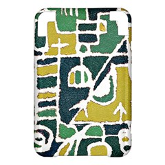 Colorful Tribal Abstract Pattern Kindle 3 Keyboard 3G Hardshell Case