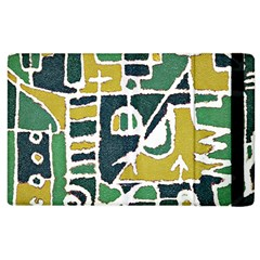 Colorful Tribal Abstract Pattern Apple Ipad 3/4 Flip Case