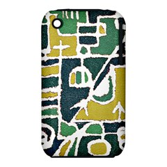 Colorful Tribal Abstract Pattern Apple iPhone 3G/3GS Hardshell Case (PC+Silicone)