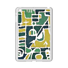 Colorful Tribal Abstract Pattern Apple iPad Mini 2 Case (White)