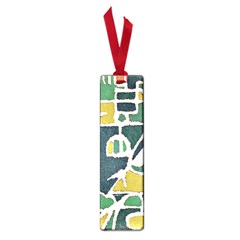 Colorful Tribal Abstract Pattern Small Bookmark