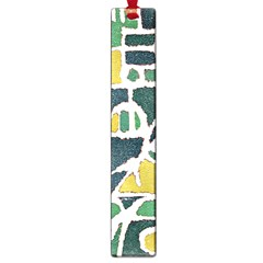 Colorful Tribal Abstract Pattern Large Bookmark