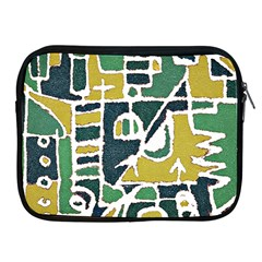 Colorful Tribal Abstract Pattern Apple Ipad Zippered Sleeve
