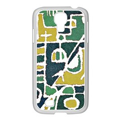 Colorful Tribal Abstract Pattern Samsung Galaxy S4 I9500/ I9505 Case (white)