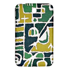 Colorful Tribal Abstract Pattern Samsung Galaxy Tab 3 (7 ) P3200 Hardshell Case