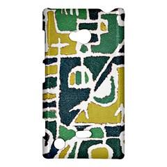 Colorful Tribal Abstract Pattern Nokia Lumia 720 Hardshell Case