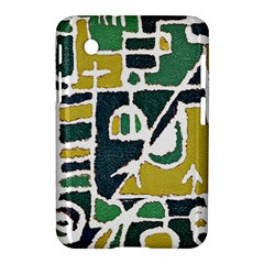 Colorful Tribal Abstract Pattern Samsung Galaxy Tab 2 (7 ) P3100 Hardshell Case