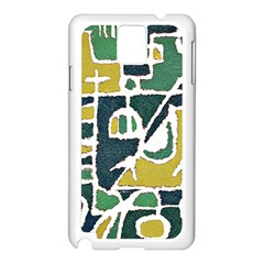 Colorful Tribal Abstract Pattern Samsung Galaxy Note 3 N9005 Case (white)