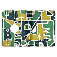 Colorful Tribal Abstract Pattern Kindle Fire Hdx Flip 360 Case