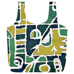 Colorful Tribal Abstract Pattern Reusable Bag (XL)