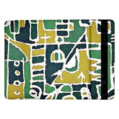 Colorful Tribal Abstract Pattern Samsung Galaxy Tab Pro 12.2  Flip Case