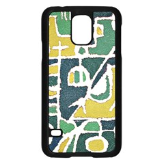 Colorful Tribal Abstract Pattern Samsung Galaxy S5 Case (Black)