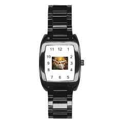 Images (8) Stainless Steel Barrel Watch