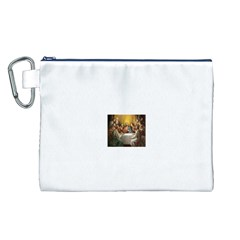 Images (8) Canvas Cosmetic Bag (Large)
