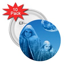 Full Moon Rising 2 25  Button (10 Pack)