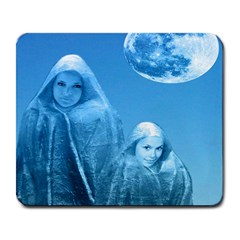 Full Moon Rising Large Mouse Pad (rectangle)
