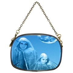 Full Moon Rising Chain Purse (one Side)