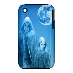 Full Moon Rising Apple iPhone 3G/3GS Hardshell Case (PC+Silicone)