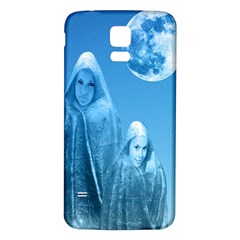 Full Moon Rising Samsung Galaxy S5 Back Case (white)