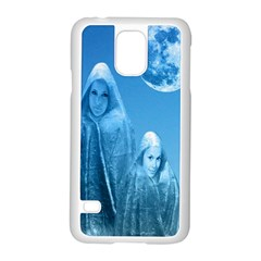 Full Moon Rising Samsung Galaxy S5 Case (White)