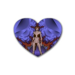 Chaos Drink Coasters 4 Pack (heart)