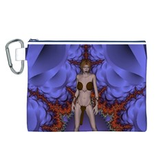Chaos Canvas Cosmetic Bag (Large)