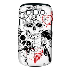 Skull Love Affair Samsung Galaxy S III Classic Hardshell Case (PC+Silicone)