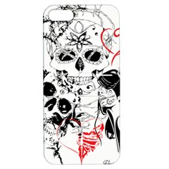Skull Love Affair Apple Iphone 5 Hardshell Case With Stand