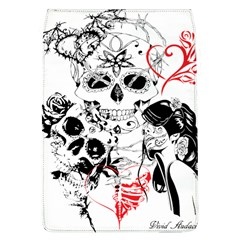 Skull Love Affair Removable Flap Cover (large)