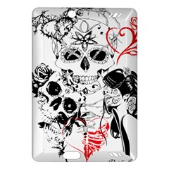 Skull Love Affair Kindle Fire HD (2013) Hardshell Case