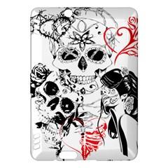 Skull Love Affair Kindle Fire HDX Hardshell Case