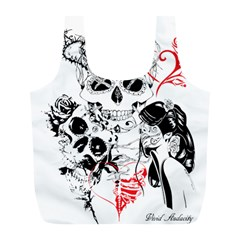 Skull Love Affair Reusable Bag (L)