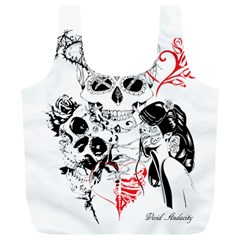 Skull Love Affair Reusable Bag (xl)