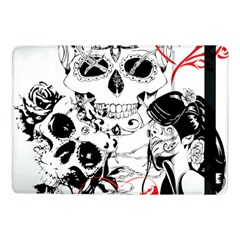 Skull Love Affair Samsung Galaxy Tab Pro 10 1  Flip Case