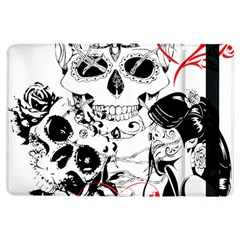 Skull Love Affair Apple Ipad Air Flip Case