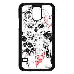 Skull Love Affair Samsung Galaxy S5 Case (Black)