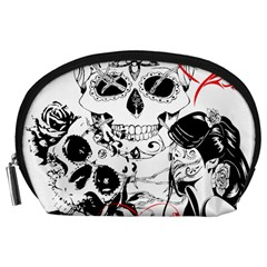 Skull Love Affair Accessory Pouch (Large)