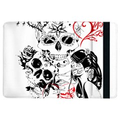 Skull Love Affair Apple iPad Air 2 Flip Case