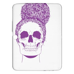 Purple Skull Bun Up Samsung Galaxy Tab 3 (10 1 ) P5200 Hardshell Case