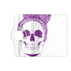 Purple Skull Bun Up Kindle Fire Hd (2013) Flip 360 Case