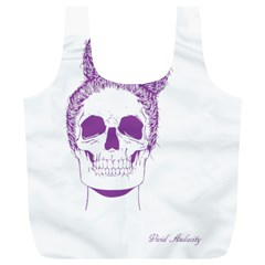 Purple Skull Bun Up Reusable Bag (XL)