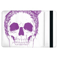 Purple Skull Bun Up Apple iPad Air Flip Case