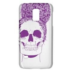 Purple Skull Bun Up Samsung Galaxy S5 Mini Hardshell Case